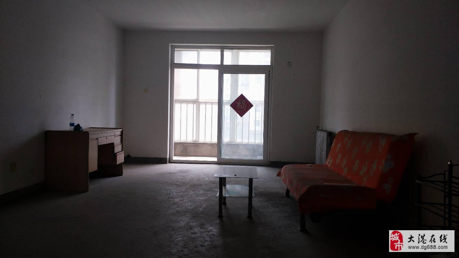 福华里4楼98平米110万两室通厅落地窗无税无贷