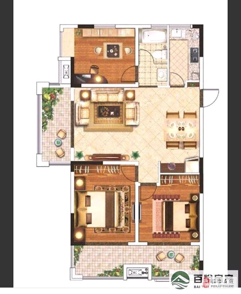 中泉首府3室+车位 离梦想很近舒适三房体验奢华生活