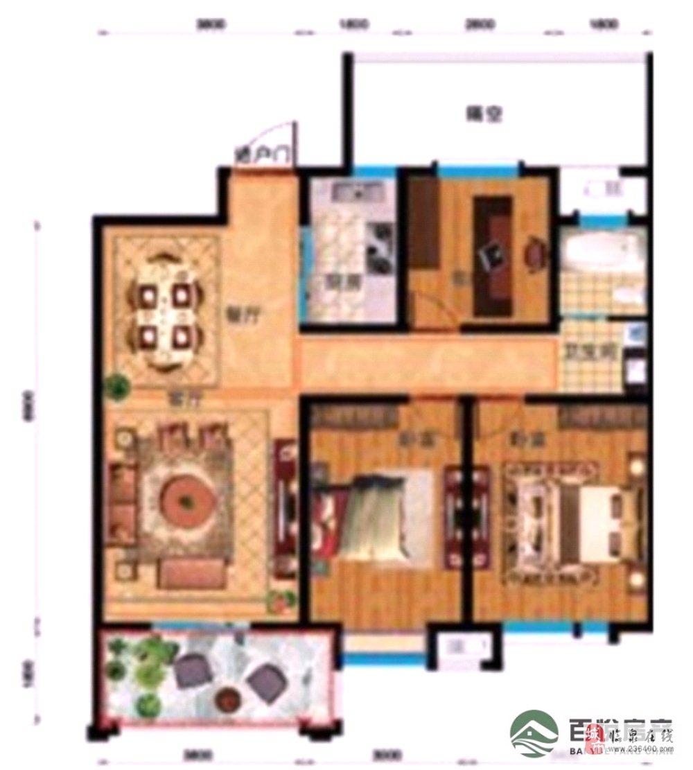 优质:利华中央公馆城南学区房+三中对面+电梯房中层