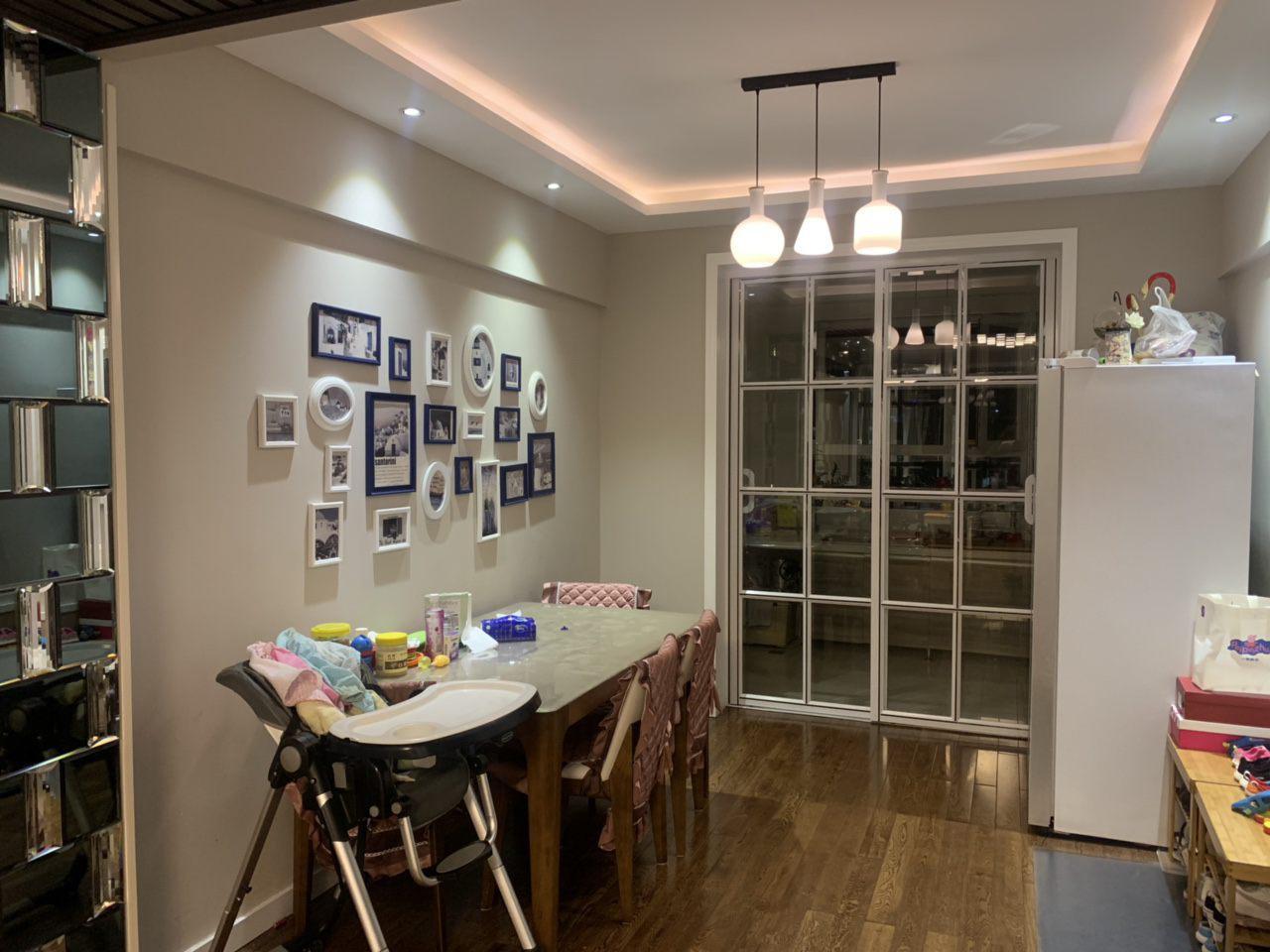 紫轩二期127平3室2厅精装修没怎么住过拎包入住