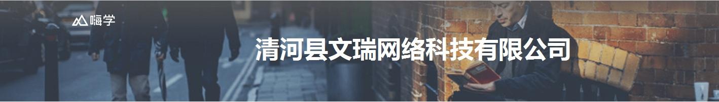 清河县文瑞网络科技有限公司