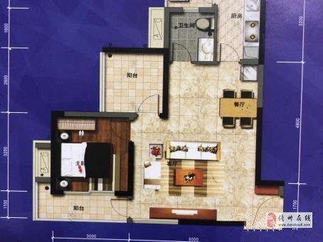 水榭丹堤2室2厅1卫精装51万元可按揭