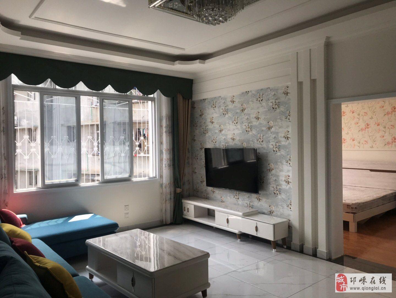 邛崃电力公司宿舍5楼精装套三双卫带家电64.8万元