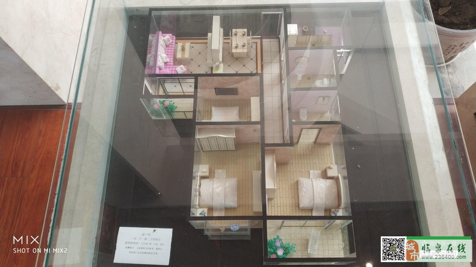 御水华府3室2厅1卫+双阳光+临泉首个观景电梯
