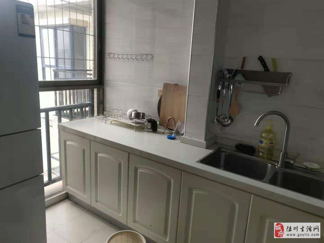 陆川城市春天3室2厅2卫42万元抄底价出售带装修