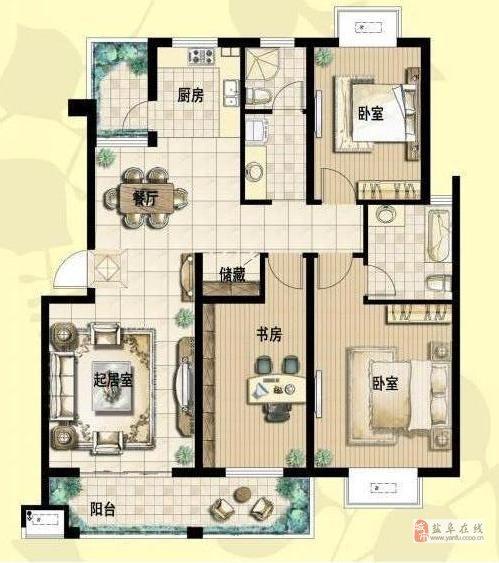 阜寧水岸麗都5室2廳2衛64.8萬元