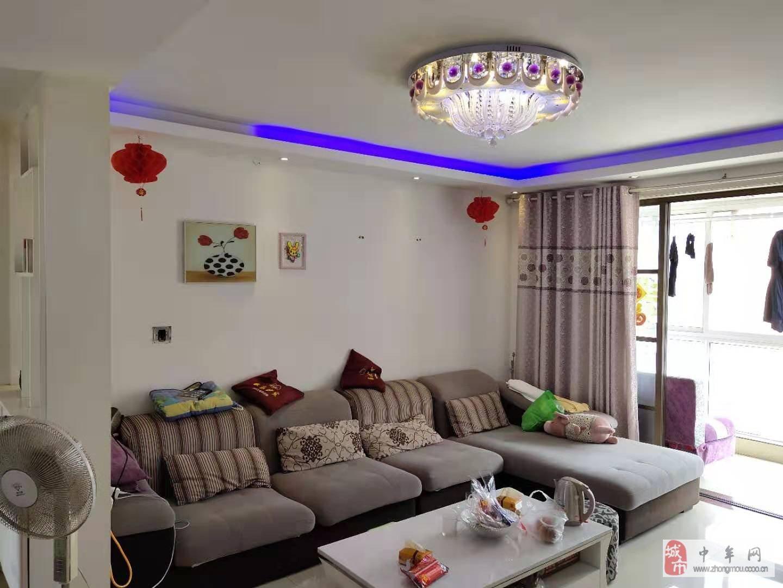 沁园馨城,精装3室,南北通透,超大阳台