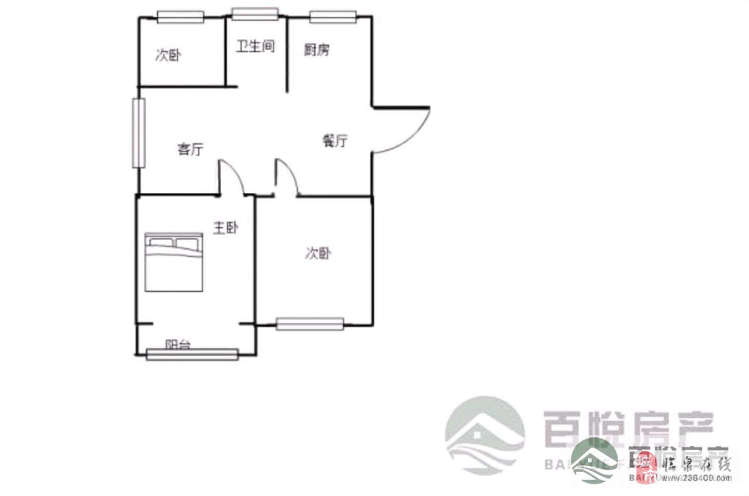 优质:瑞景国际城南三房有证可按揭+采光无敌前排边户