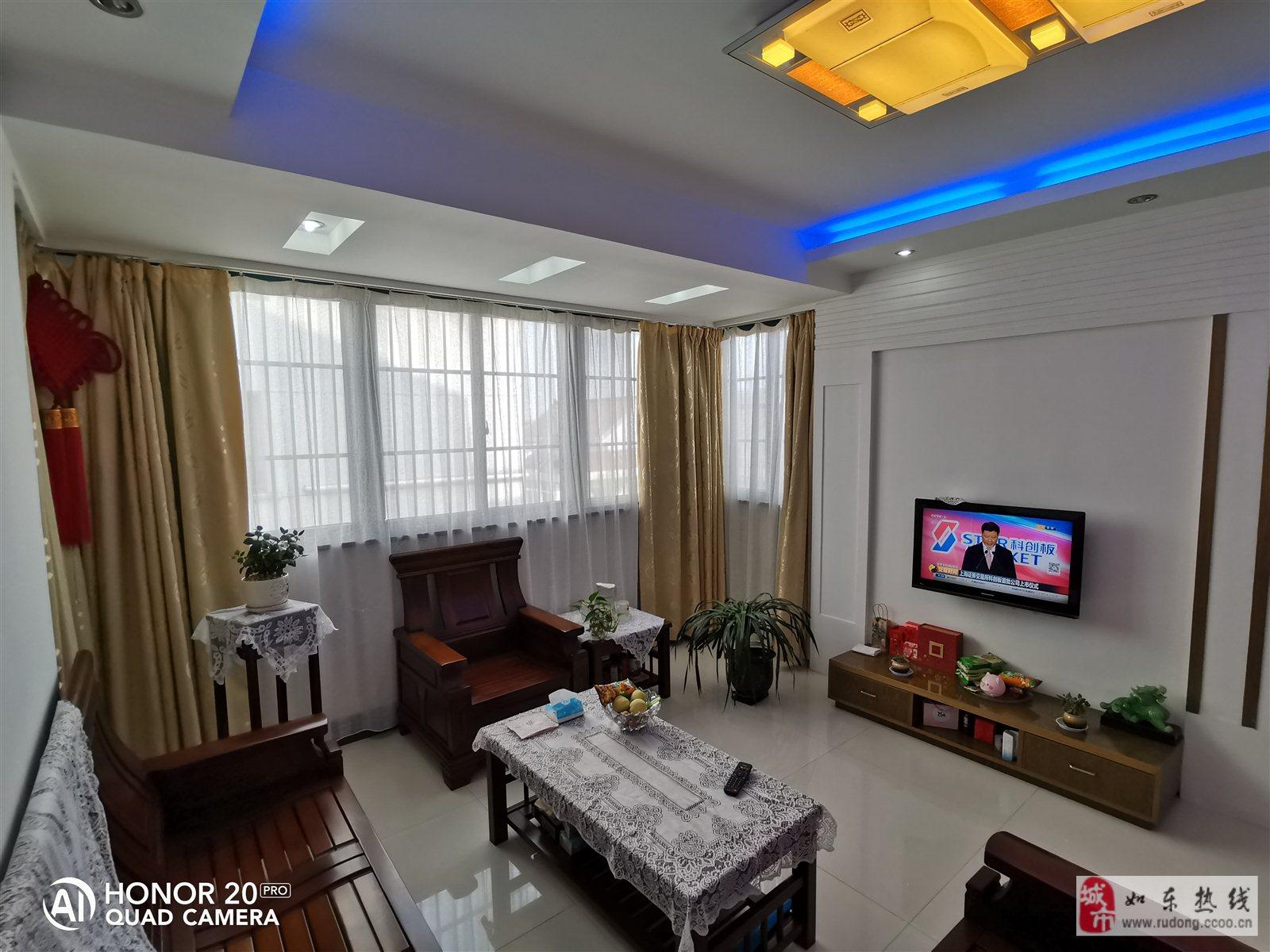 紫城小苑95平米2室2廳,贈25平米朝南車庫