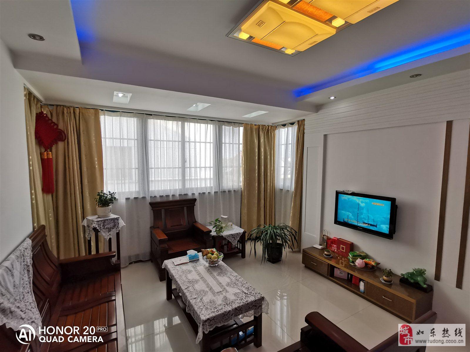 紫城小苑精裝95平米2室2廳1衛送大車庫