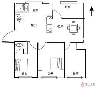 中興·帝景苑4室帶儲藏室,購物方便,可按揭