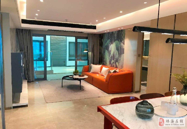 橫琴花園航空新城(時代珊瑚海兼得)小面積舒適四居,帶豪華精裝