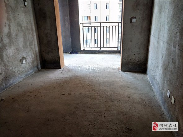 文都名郡小区毛坯电梯中间楼层超大阳台60.8万