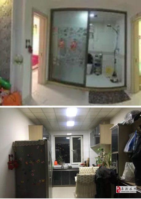 宏运华城四楼电梯三室两厅一卫带34平米地下室
