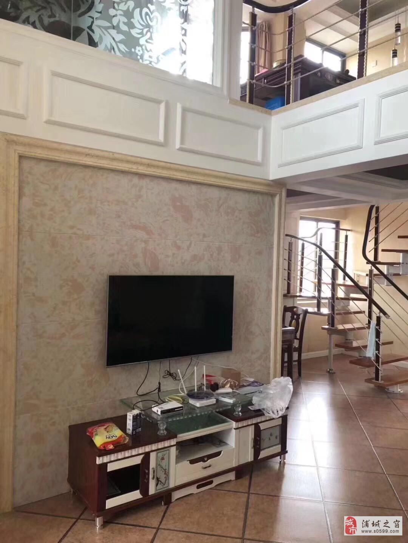 华晖棕榈泉精装复式楼4室2厅2卫158万元