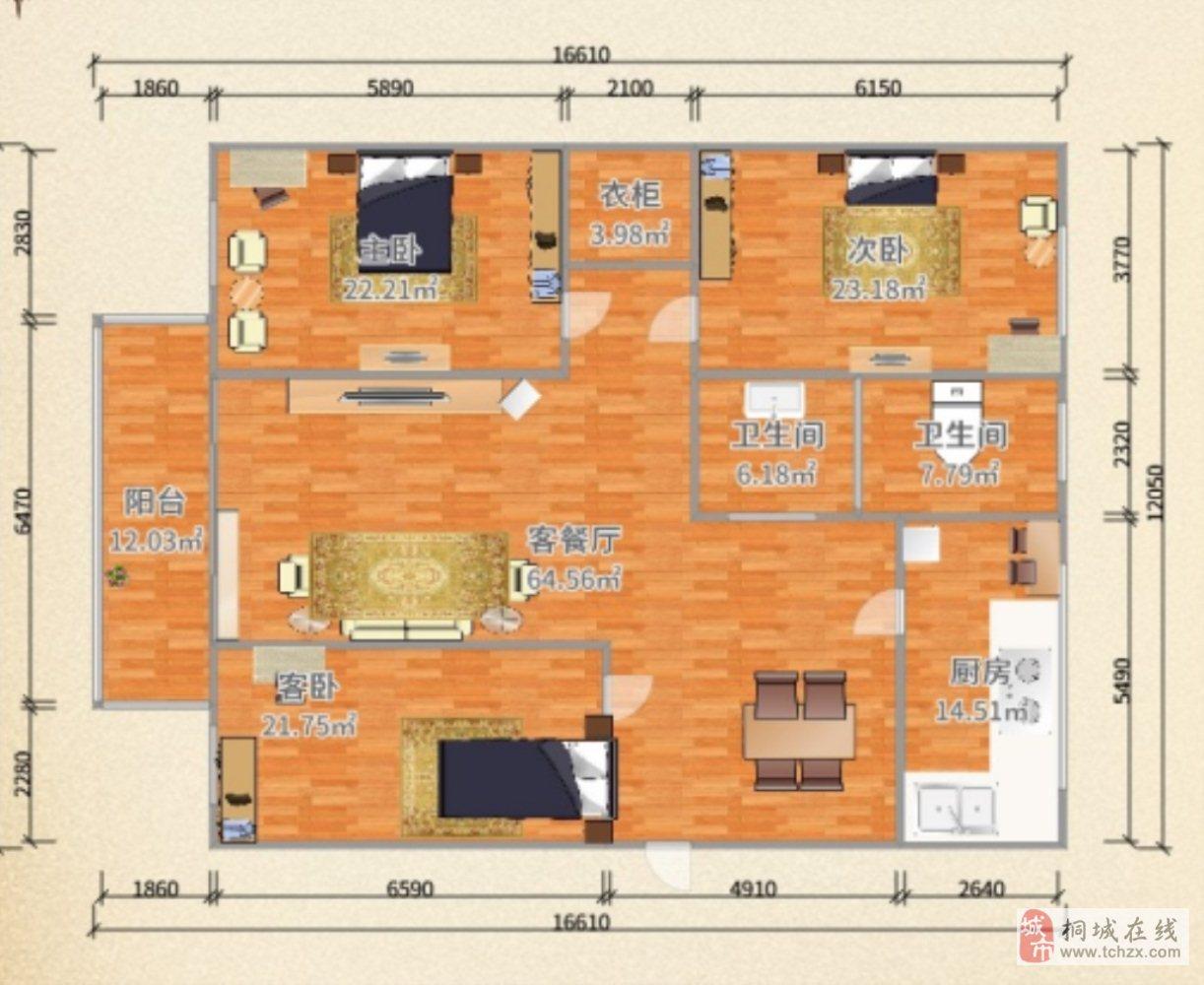土产公司宿舍精装三室黄金楼层学区房满五