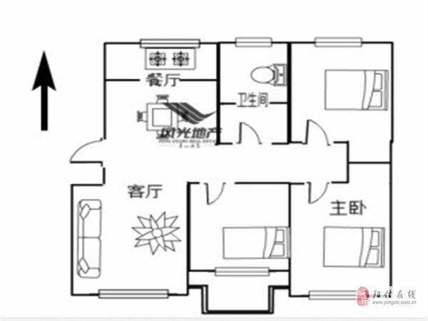 水邑龍居東區簡裝三居室新證適合陪讀交通便