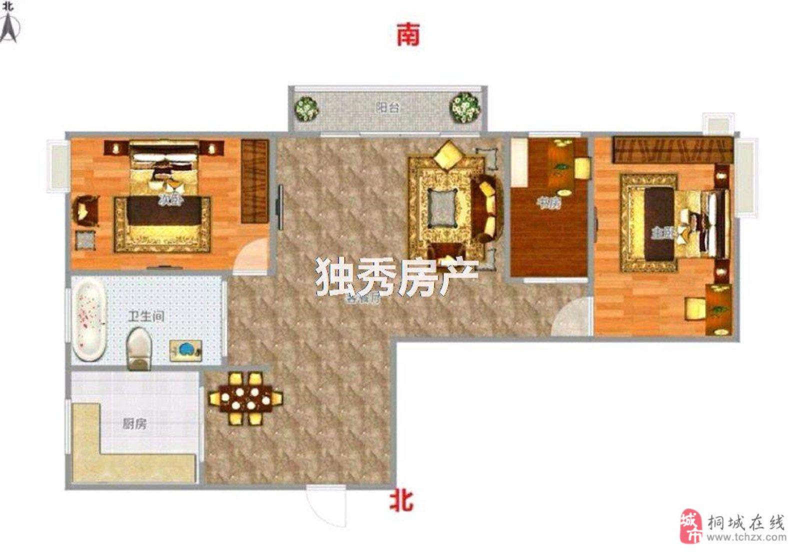 香山公馆2室2厅1卫53万元跳楼价哦