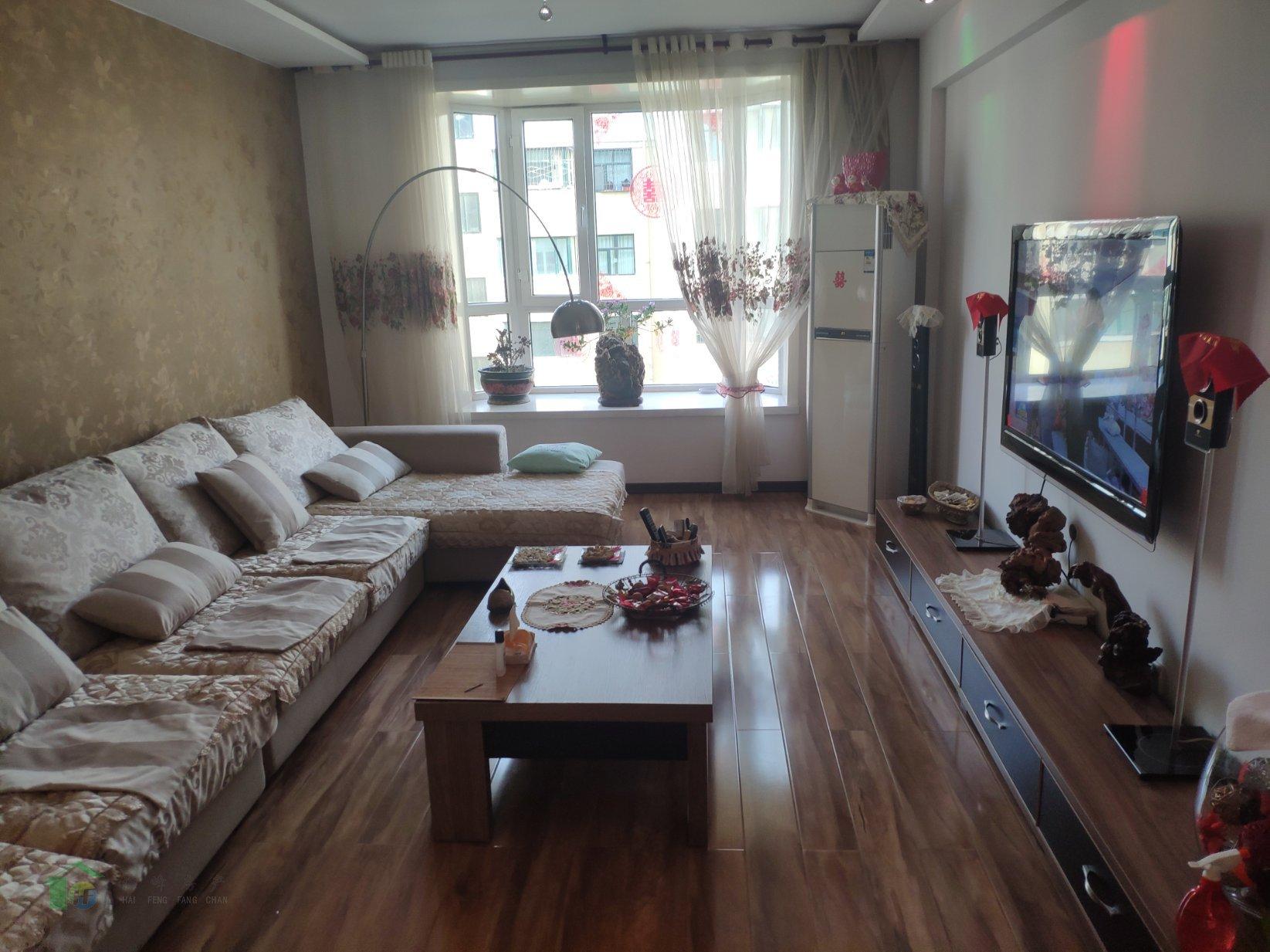 明珠花园4楼精装房带地下室产权清晰满五