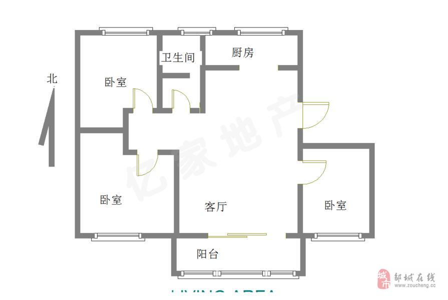 包过户!有钥匙燕京花园3室2厅69.9万带阁楼