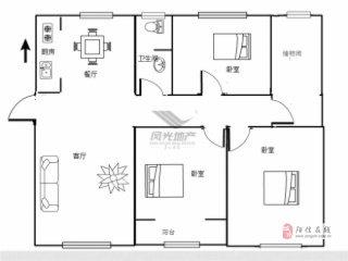 陽光嘉苑·3室2廳2衛150萬元