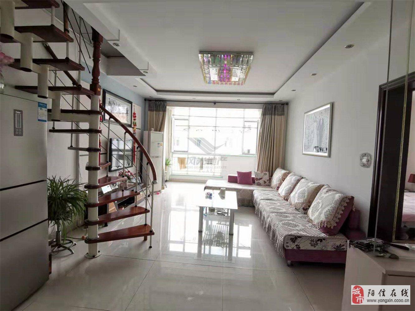 金羚美景城五樓帶閣樓三居室證滿五唯一