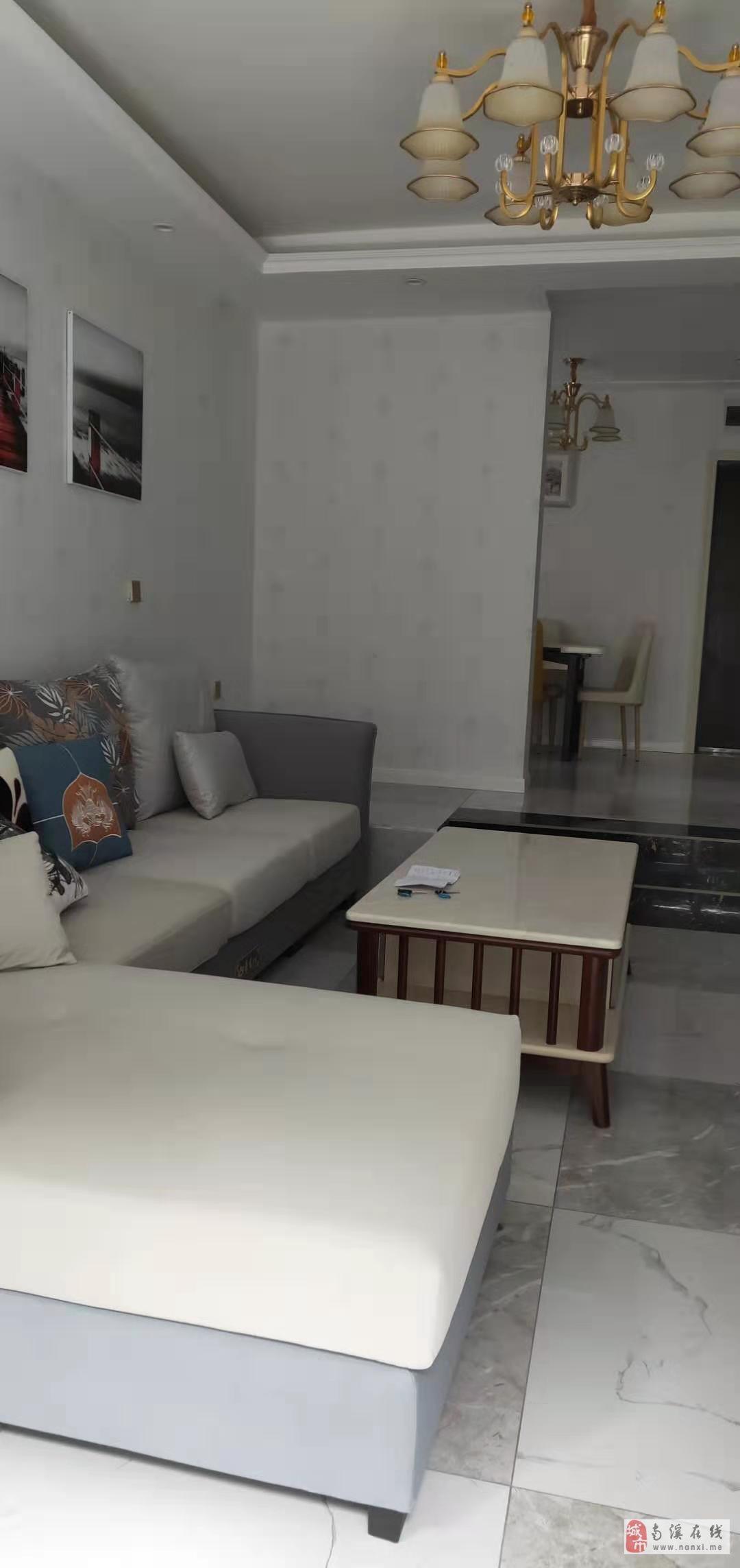 康安江城一期精裝拎包入住戶型方正采光好居住安靜