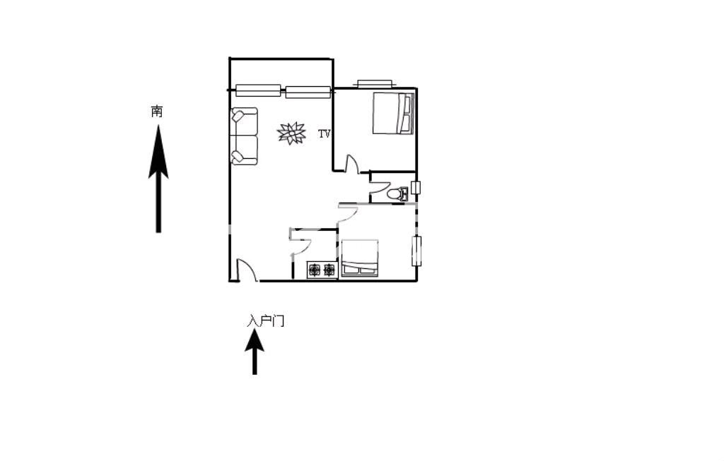 金沙水岸可隔3室2厅仅售63万