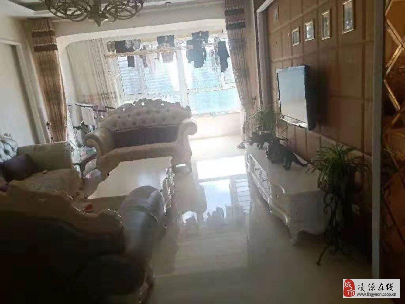 鴻晟園9樓精裝修!110平兩室帶衣帽間!50.5萬小稅貸款!