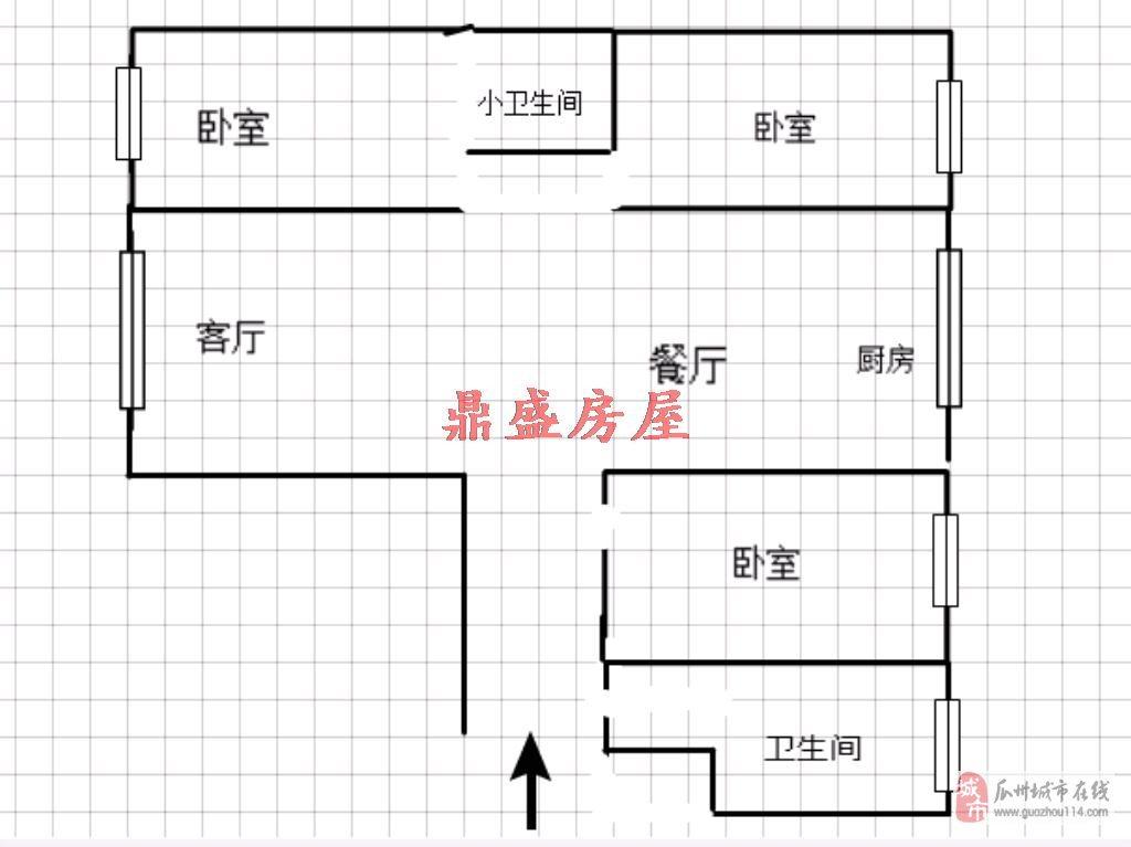 西湖家園3室2廳2衛40.5萬元,可按揭、分期