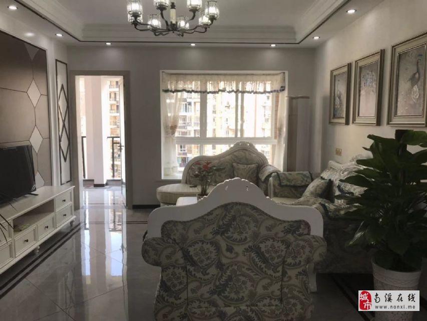 长江国际一线江景房豪装三房家具家电全齐