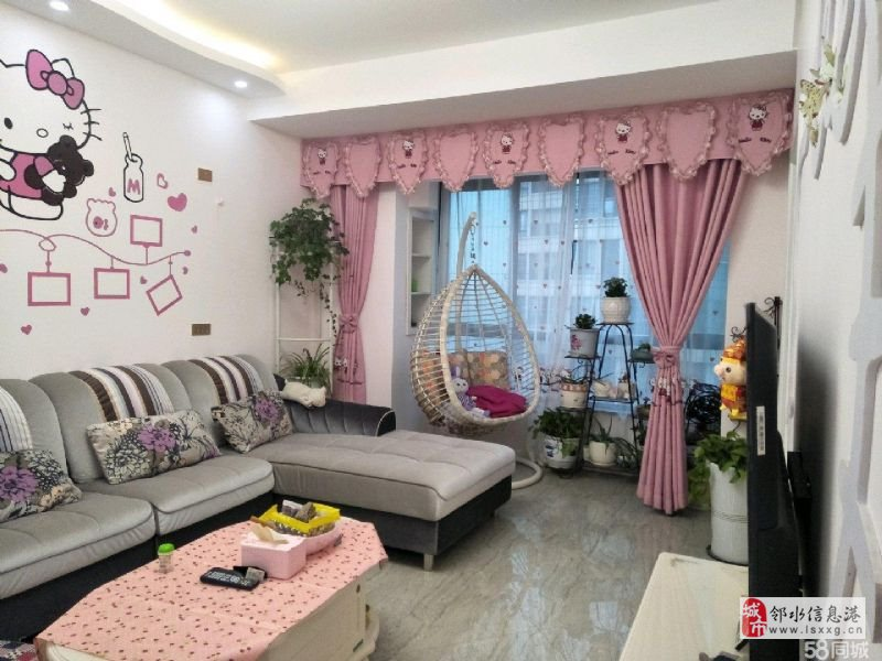 宏帆廣場一期幸福里精裝2室2廳1衛60.8萬元