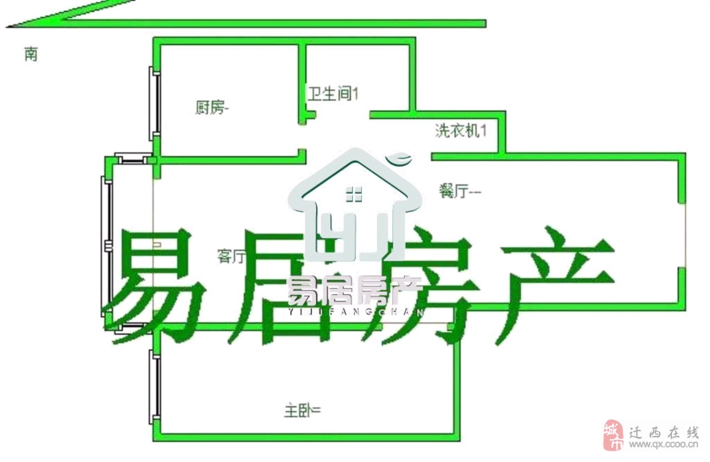 丰泽家园1室1厅1卫35万可贷款