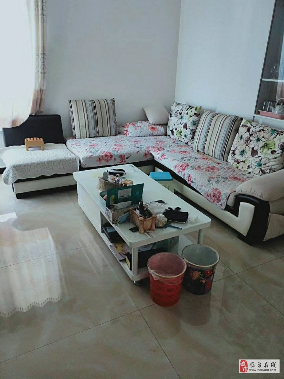 中泰锦城17楼顶楼精装修3室2厅1卫75万元