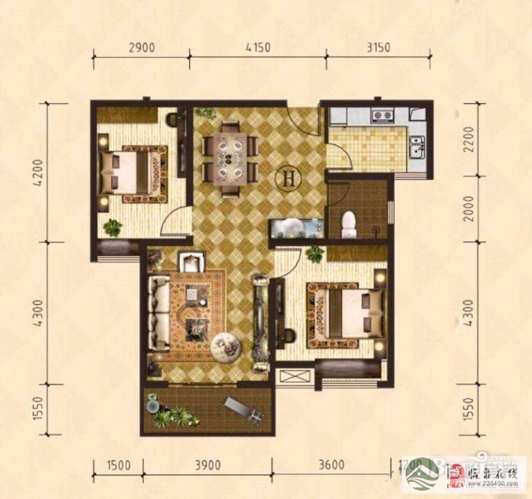 中泰锦城+城南学区房+证满两年可按揭+低层近幼儿园