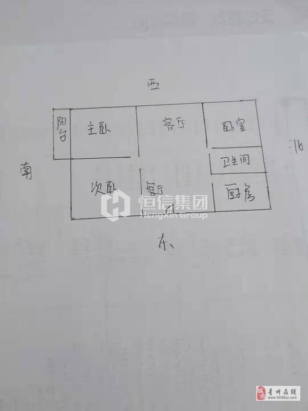 青州龙苑3室2厅1卫99万元
