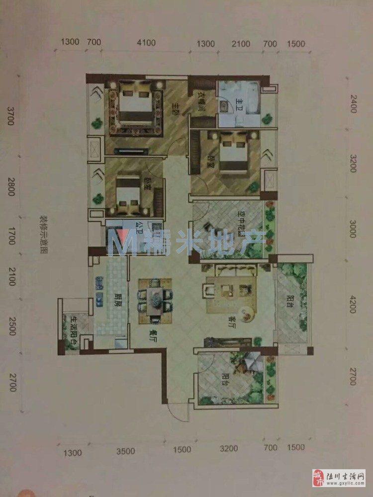 世客城5室2厅2卫62万元