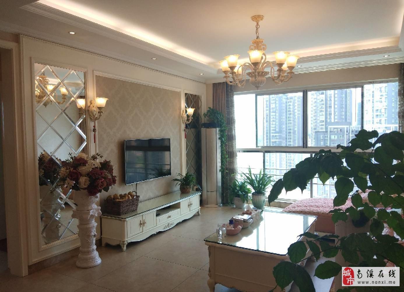 康安江城 精装大两房 房东装的婚房 家电全齐 急售