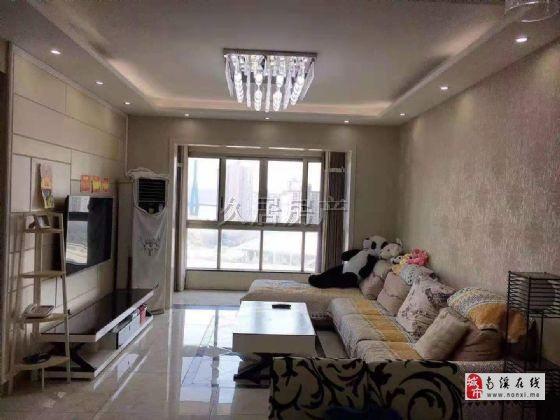 天际上城 精装3室看江房 房子漂亮的很 证满两年