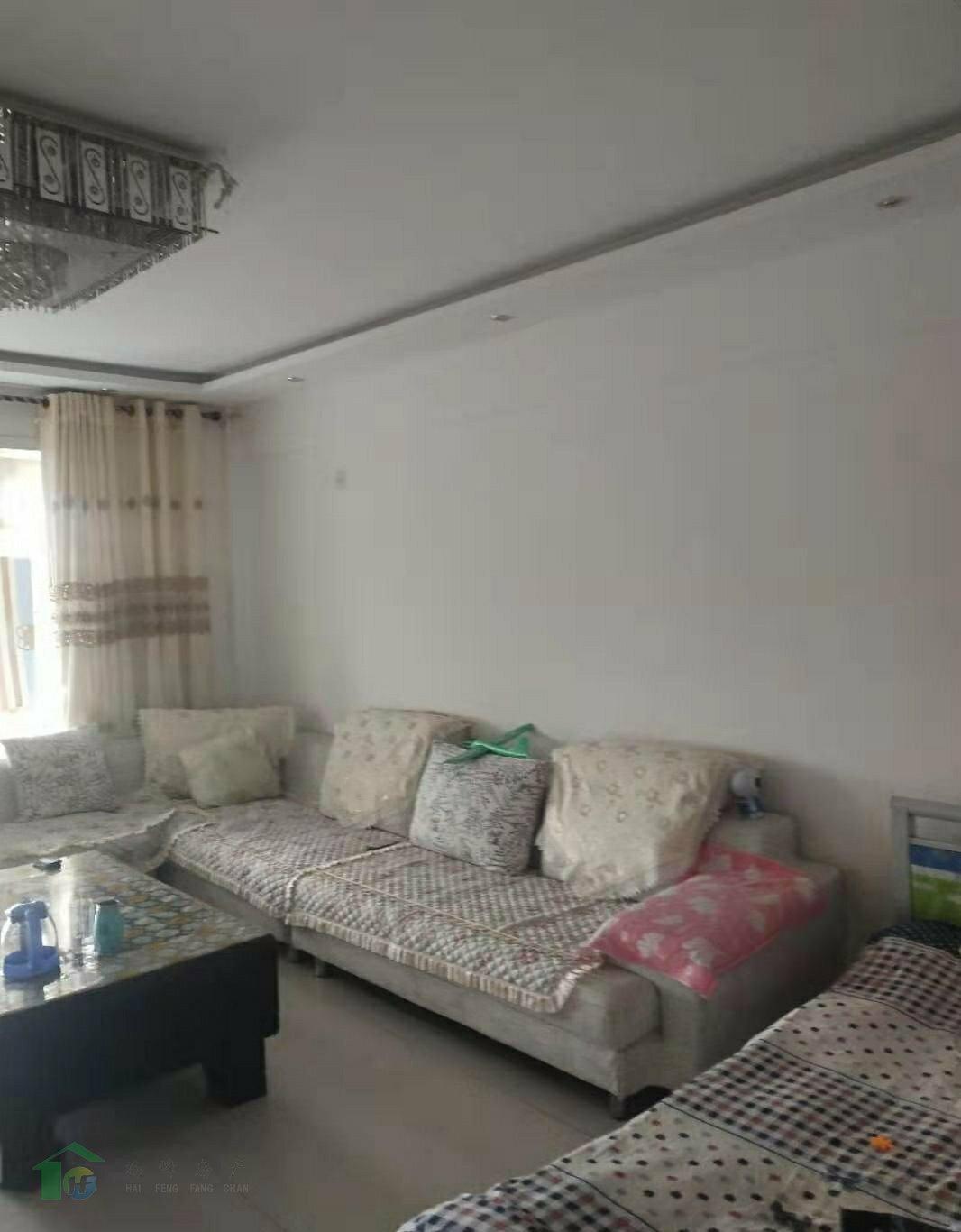瑞德苑小区2室2厅1卫3楼100平米45万带家具家电