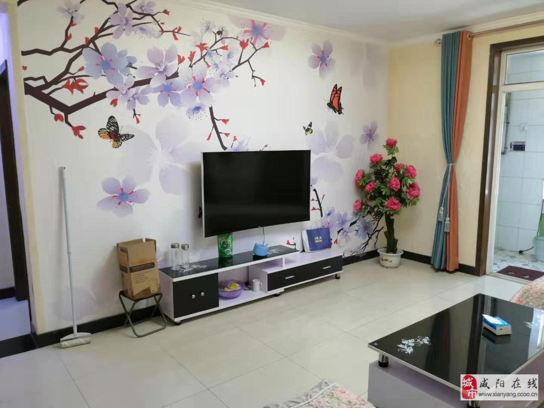 渭阳东路华泰世纪华城2室简装采光好带地下室