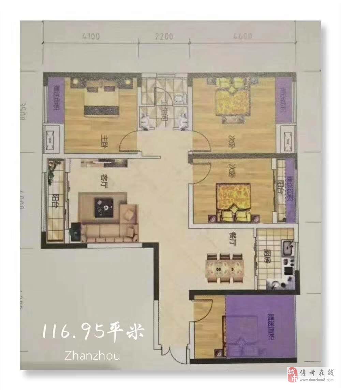 正恒帝景4室2厅1卫90万元
