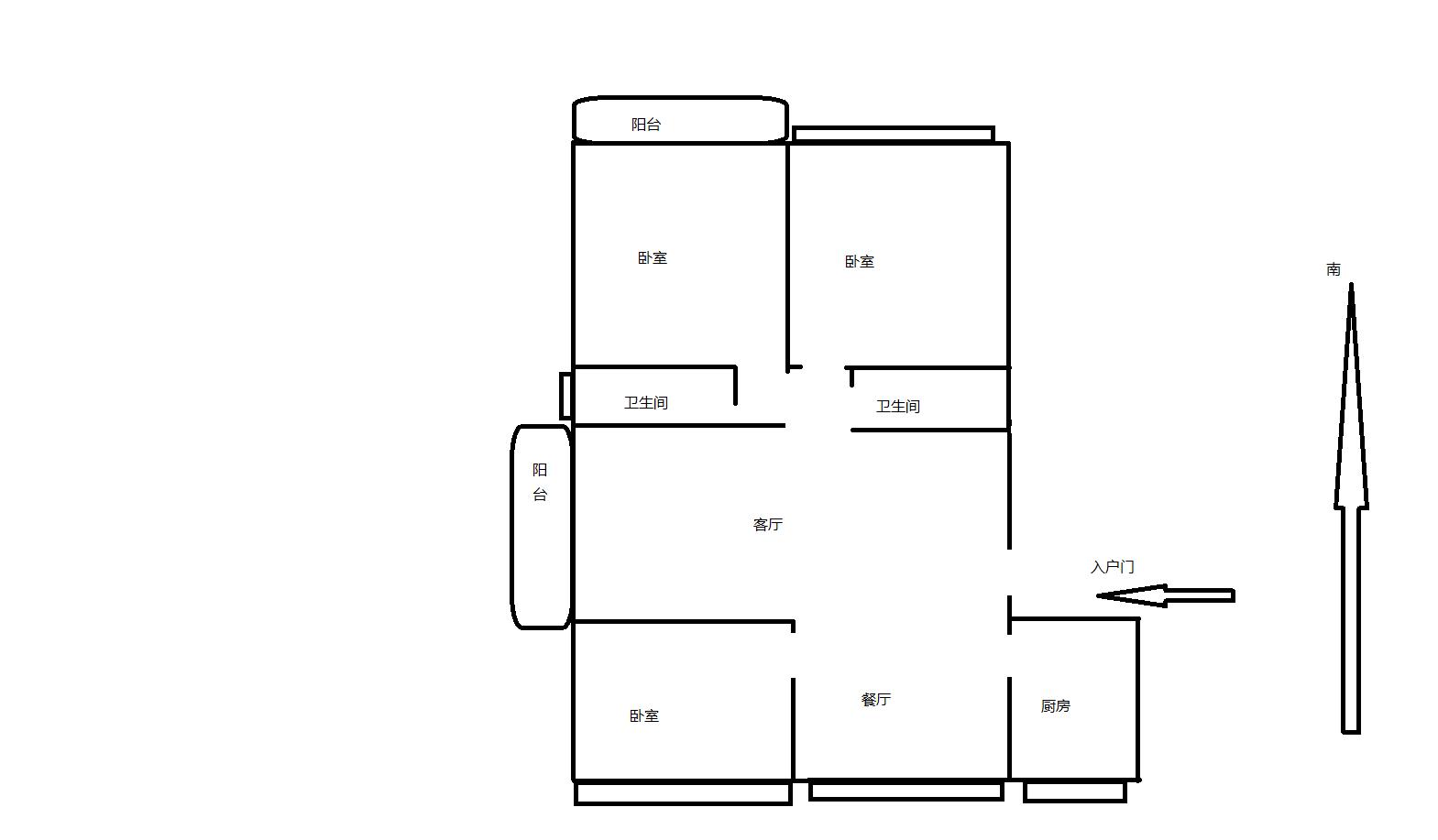 梅园三期精装145平,150万精装带家具家电