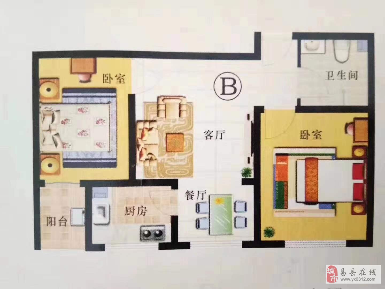 华宇新港湾2室1厅1卫58.96万元