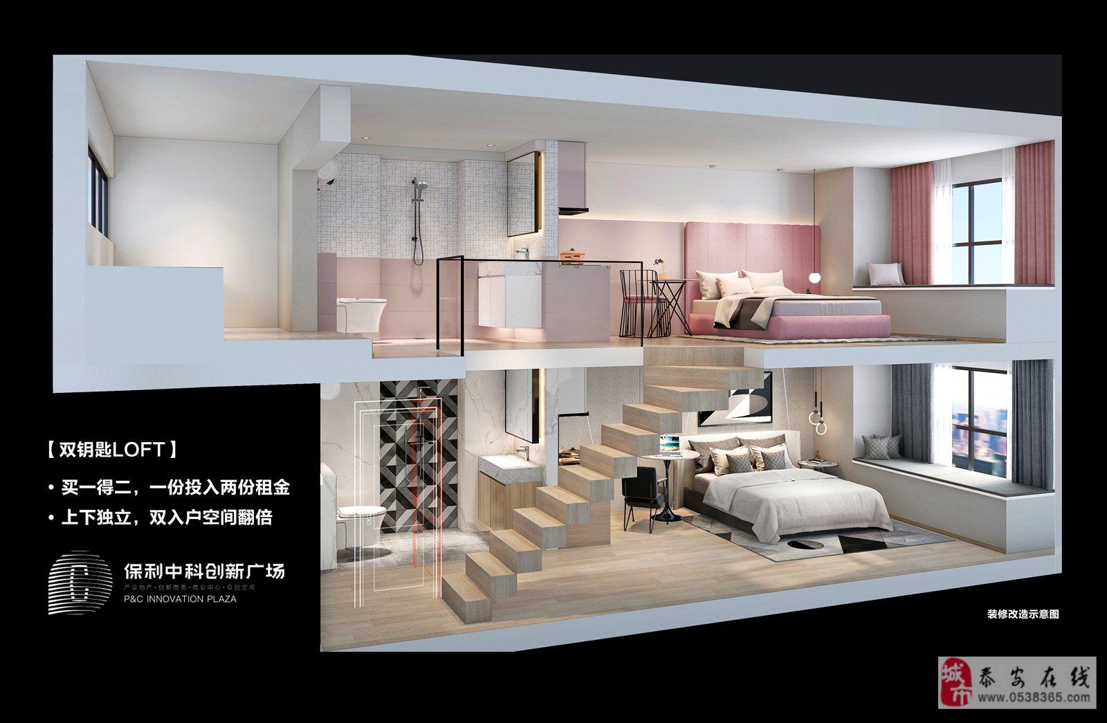 濟南保利中科創新廣場不得了了,復式公寓牛的很