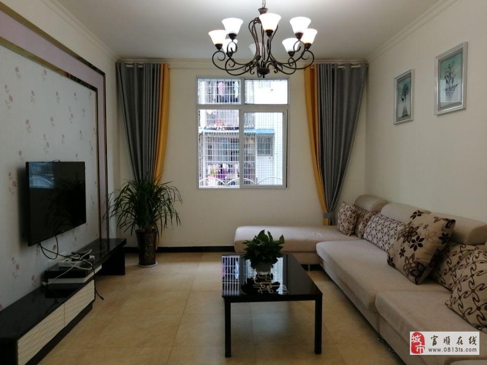 8426谷草山小区黄金3楼两室两厅精装,可拎包入住