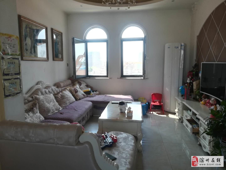 新湖玫瑰园多层四楼精装两居室送露台配合贷款可议价