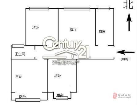 泰和佳园好楼层送储藏室,3室2厅1卫71万可贷款