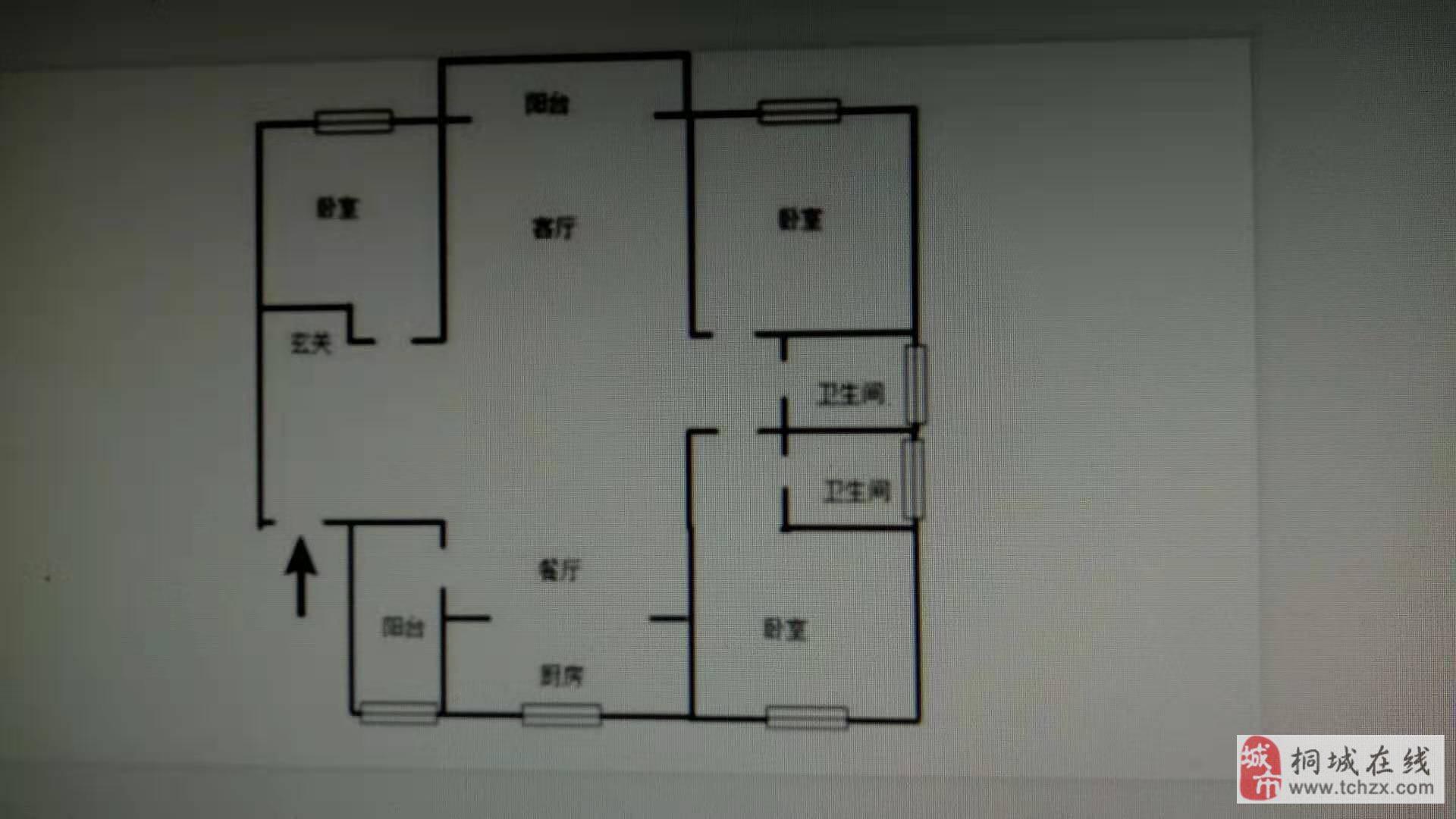 碧桂园婚房装修未住,中间楼层130平米