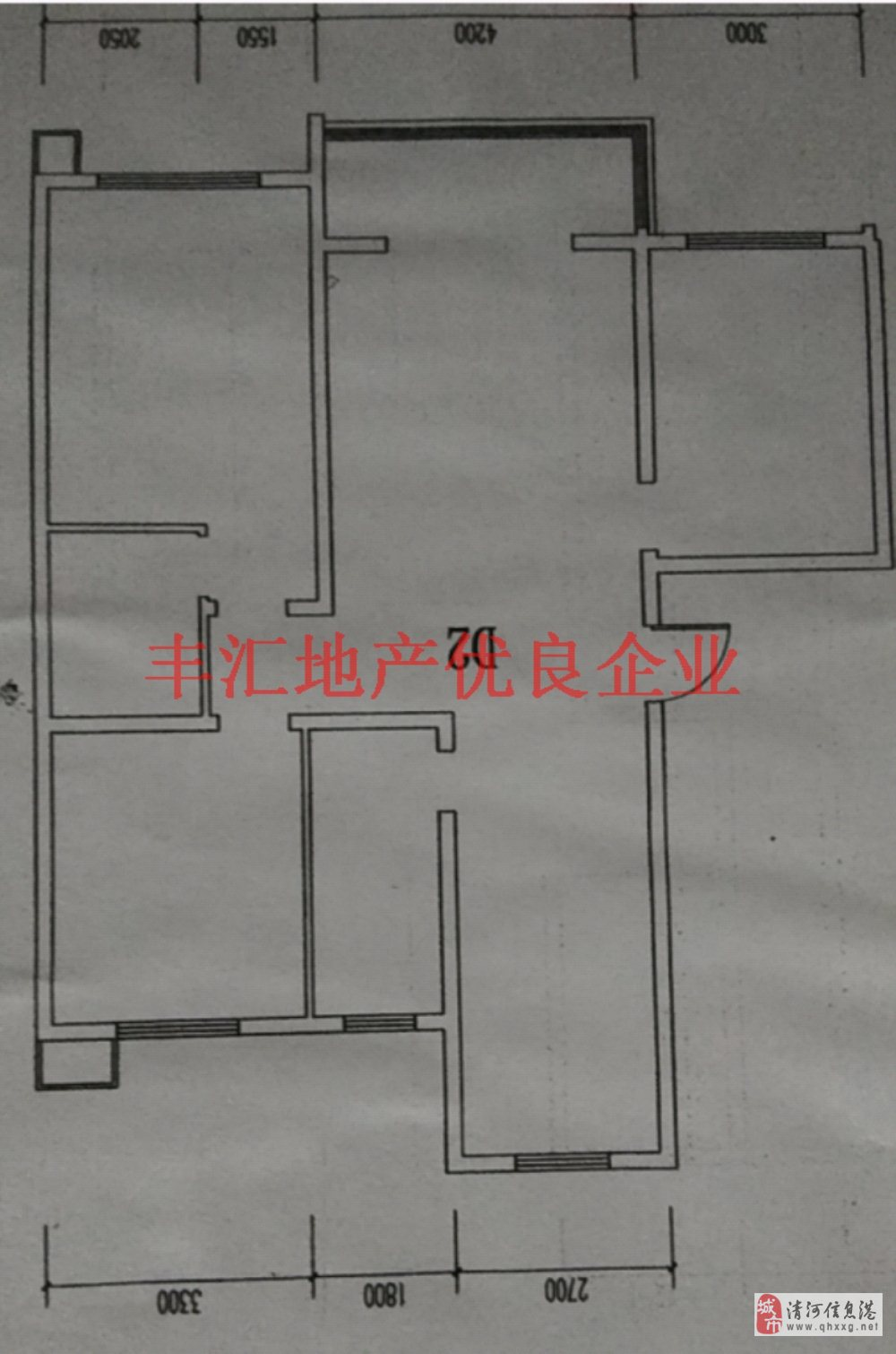水岸清城3室2厅2卫83.85万元